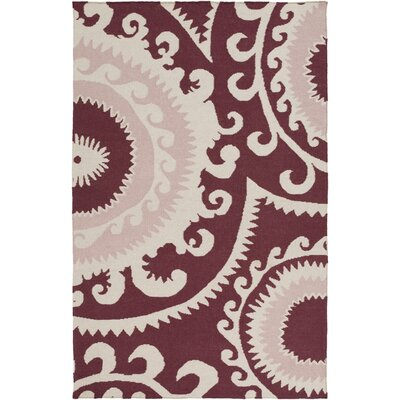 Fallon Pastel Pink Ikat & Suzani Area Rug Rug Size: Rectangle 2 x 3