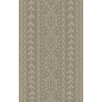 Bjorn Gray Area Rug Rug Size: 2 x 3
