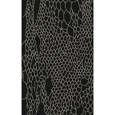 Bjorn Charcoal Area Rug Rug Size: 5 x 8