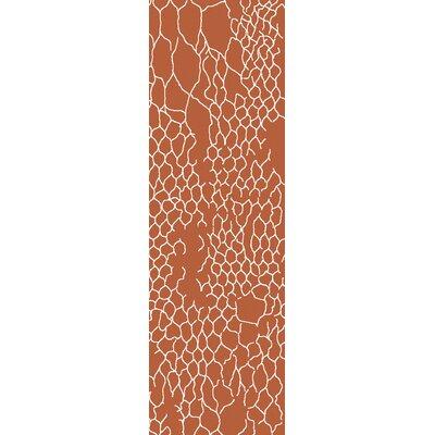 Bjorn Poppy Area Rug Rug Size: 33 x 53