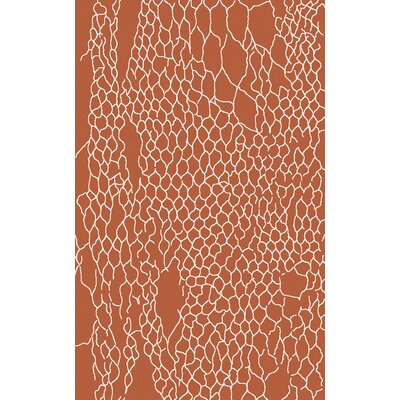 Bjorn Poppy Area Rug Rug Size: Rectangle 33 x 53