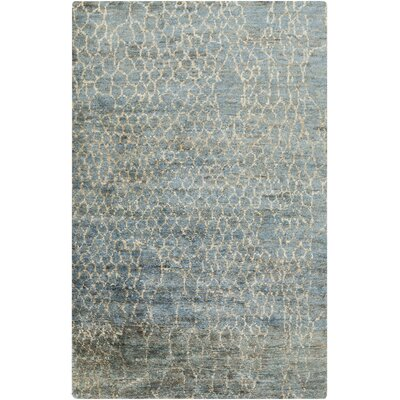 Bjorn Beige/Teal Area Rug Rug Size: Rectangle 33 x 53