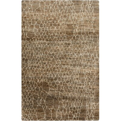 Bjorn Beige/Mocha Area Rug Rug Size: Rectangle 33 x 53