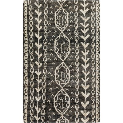 Bjorn Charcoal/Beige Area Rug Rug Size: Rectangle 2 x 3