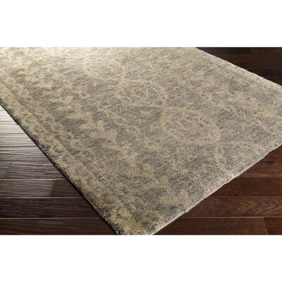 Bjorn Gray/Ivory Area Rug Rug Size: Rectangle 5 x 8
