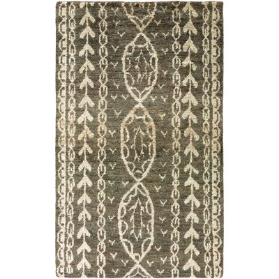 Bjorn Charcoal/Ivory Area Rug Rug Size: Rectangle 33 x 53