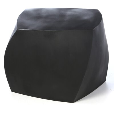 Frank Gehry Ottoman Upholstery: Black