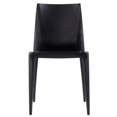 Buy Low Price Heller Mario Bellini Dining Chair Finish: Black