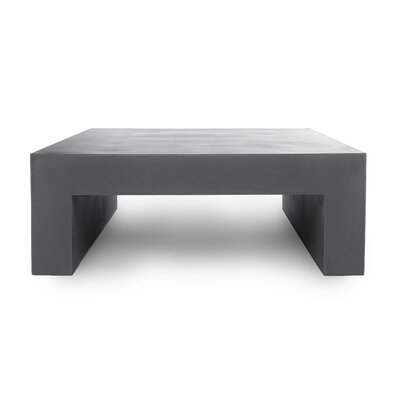 Massimo Vignelli Coffee Table Color: Dark Gray