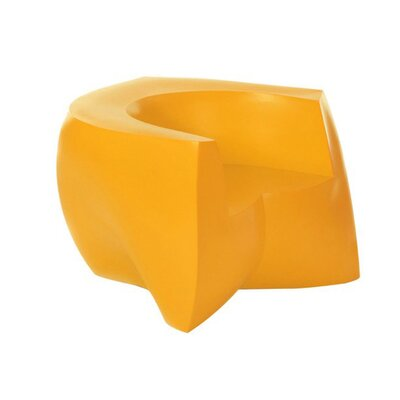 Frank Gehry Barrel Chair Upholstery: Yellow