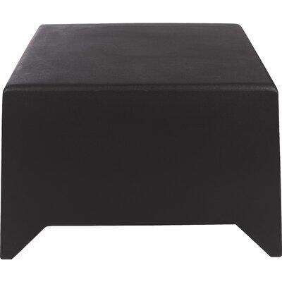 Mario MB5 Ottoman Upholstery: Dark Grey