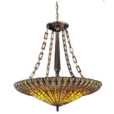 Golden Lotus 2-Light Mini Chandelier