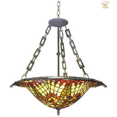 Peacock 2-Light Mini Chandelier