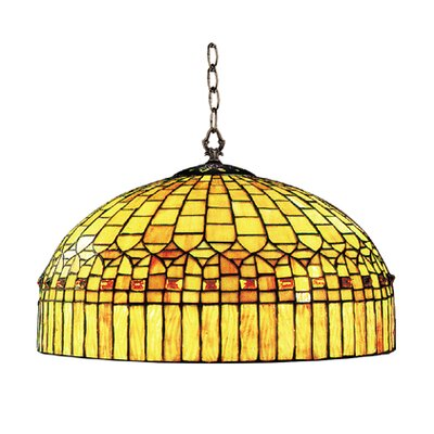 Cathedral 1-Light Bowl Pendant