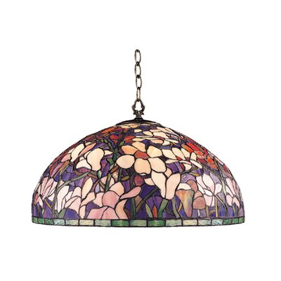 Magnolia 1-Light Bowl Pendant