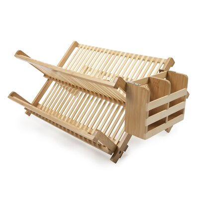 Core Bamboo Dish Rack with Utensil Holder DR414J