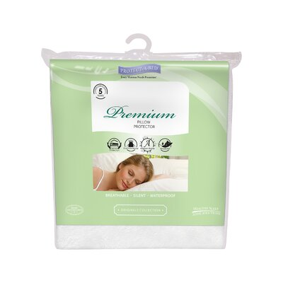 Premium Pillow Protector Size: Queen