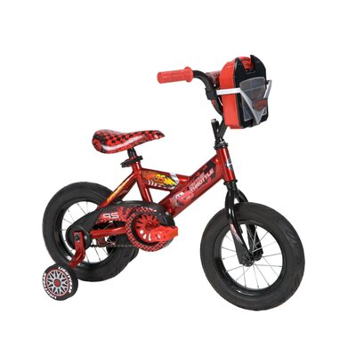 "Huffy Boy's 12"" Disney Cars Cruiser Bike with Training Wheels at Sears.com"