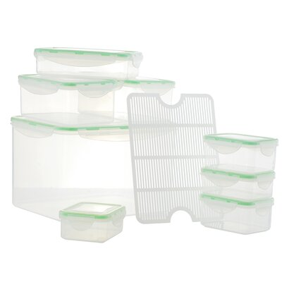 Al Dente Plastic 8 Container Food Storage Set 41003
