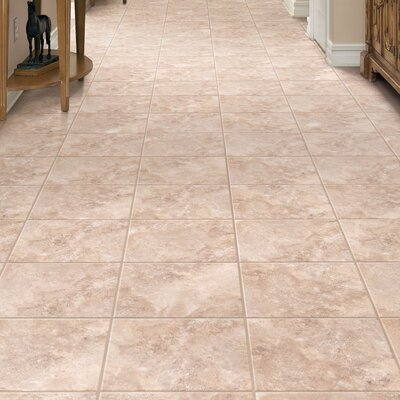 Ovations Alabaster 14 x 14 x 3.56mm Luxury Vinyl Tile in Light Mocha