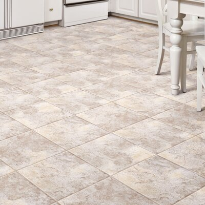Ovations Sunstone 14 x 14 x 3.56mm Luxury Vinyl Tile in Stone White