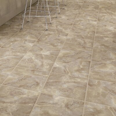 DuraCeramic Village Slate 16 x 16 x 4.06mm Luxury Vinyl Tile in Swanky Silk