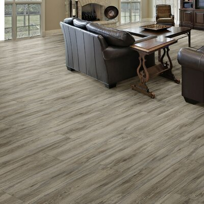 Triversa 7.13 x 48 x 8mm Luxury Vinyl Plank in Applewood Frosted Coffee