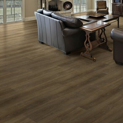 Triversa 7.13 x 48 x 8mm Luxury Vinyl Plank in Walnut Auburn