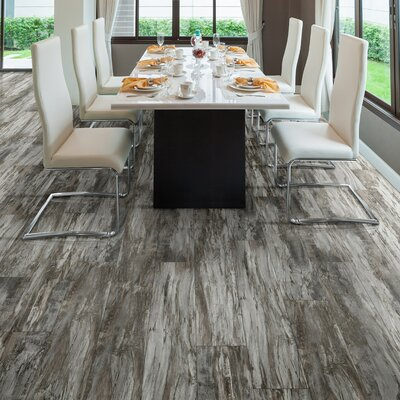 Triversa 7.13 x 48 x 8mm Luxury Vinyl Plank in Fusion Warm Pewter
