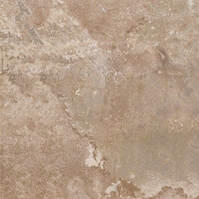 DuraCeramic  Rustic Stone 16 x 16 x 4.06mm Luxury Vinyl Tile in Light Beige