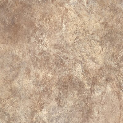 Ovations Textured Slate 14 x 14 x 3.56mm Luxury Vinyl Tile in Sand
