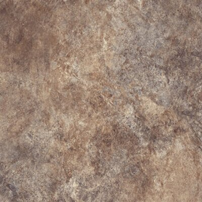 Ovations Textured Slate 14 x 14 x 3.56mm Luxury Vinyl Tile in Brown
