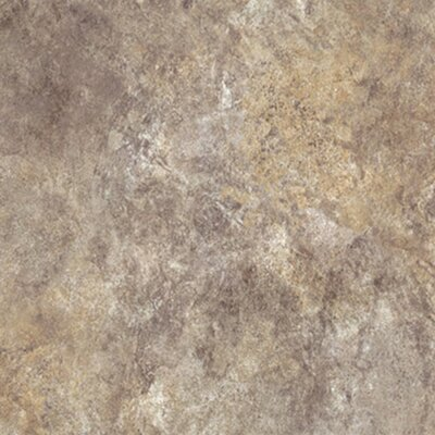 Ovations Textured Slate 14 x 14 x 3.56mm Luxury Vinyl Tile in Sage
