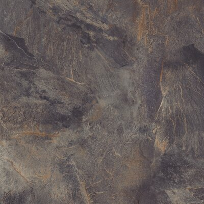 DuraCeramic Village Slate 16 x 16 x 4.06mm Luxury Vinyl Tile in Stormy Night