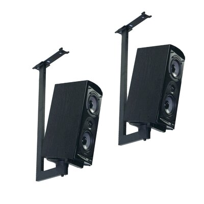 Side Clamping Bookshelf Speaker Ceiling Mount
