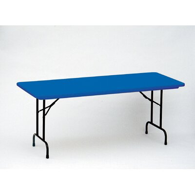 "Correll, Inc. Rectangular Folding Table - Size: 24 x 48"", Color: Red at Sears.com"