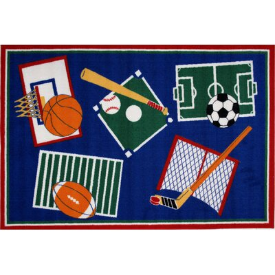 Fun Time Kids Rug Rug Size: 33 x 410