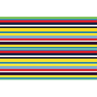 Fun Time Stripemania Kids Rug Rug Size: 33 x 410