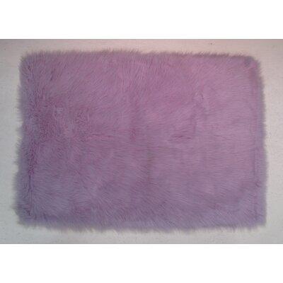 Lavender Kids Rug Rug Size: 27 x 311