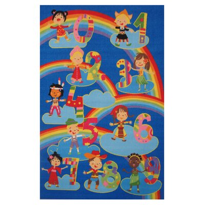 Fun Time Kids and Numbers Kids Rug Rug Size: 33 x 410