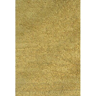 Yellow Shag Kids Rug Rug Size: 43 x 66