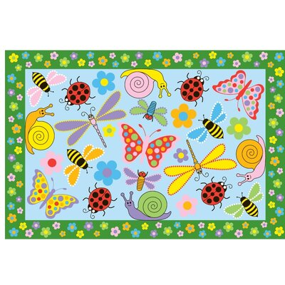 Fun Time Exotic Creatures Kids Rug Rug Size: 33 x 410