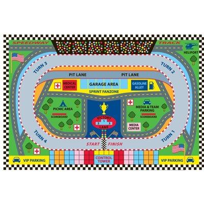 Fun Time Speedway Kids Rug Rug Size: 33 x 410