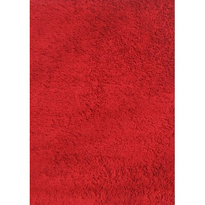 Red Shag Kids Rug Rug Size: 43 x 66