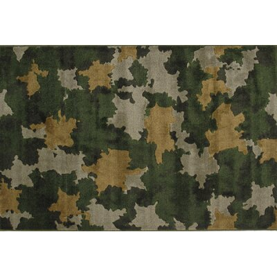 Supreme Camouflage Kids Rug Rug Size: 53 x 76