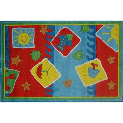 Jade Reynolds Beach Blanket Kids Rug Rug Size: 33 x 410