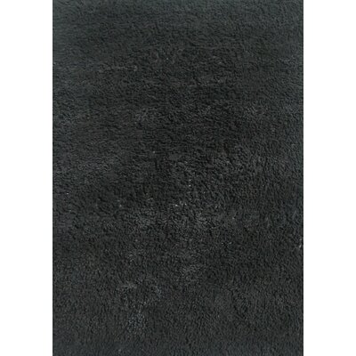 Fun Shags Black Area Rug Rug Size: 33 x 410