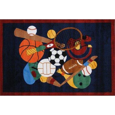 Supreme Sports America Kids Rug Rug Size: 27 x 311