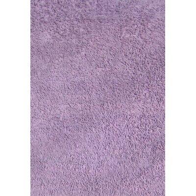 Lavender Shag Kids Area Rug Rug Size: 43 x 66
