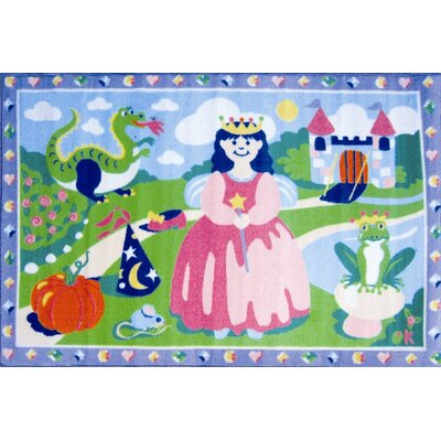 Olive Kids Happily Ever After Princess Area Rug Rug Size: 33 x 410